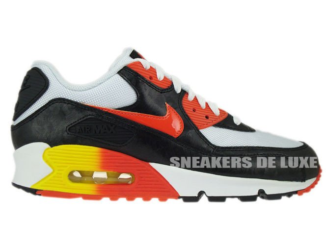 Nike Air Max TN White Black Orange Red .