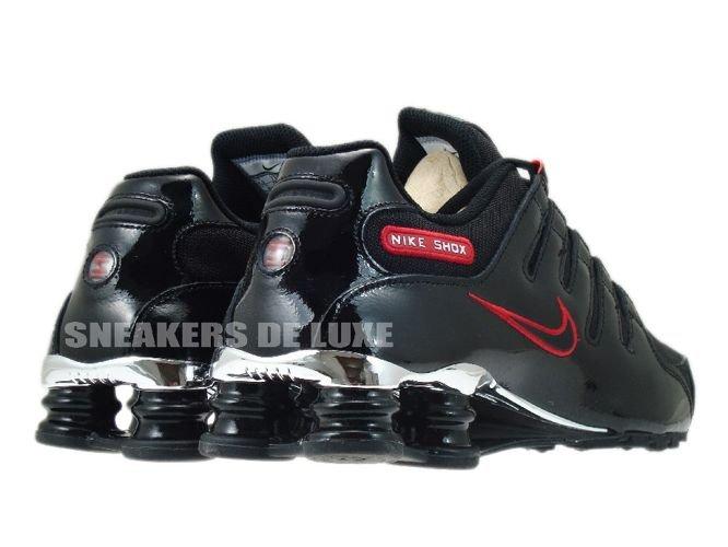 323bed546f58 325201-025 Nike Shox NZ EU BlackBlack-Sport Red .