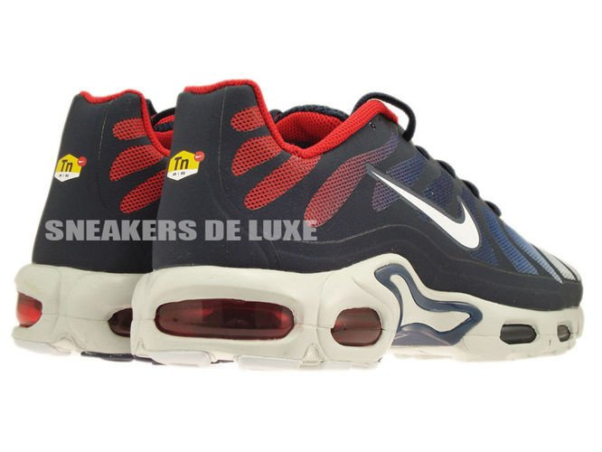 ... 483553-416 Nike Air Max Plus TN Fuse Midnight Navy/White University Red  ...