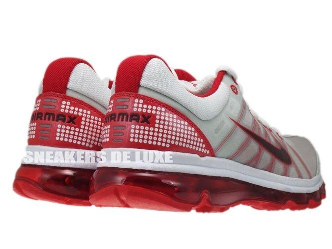 211be9131d29fa 486978-166 Nike Air Max 2009+ White Red Mahogany- ...