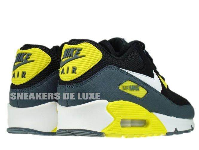 black and yellow air max