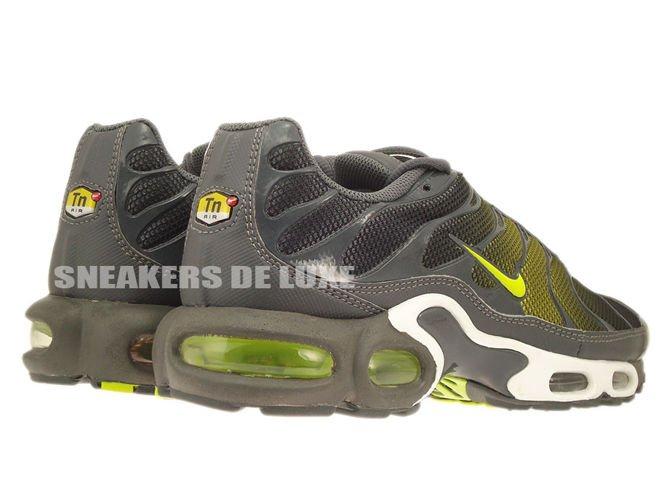 31228f975925fc 647315-030 Nike Air Max Plus TN 1 Dark GreyVenom Green .