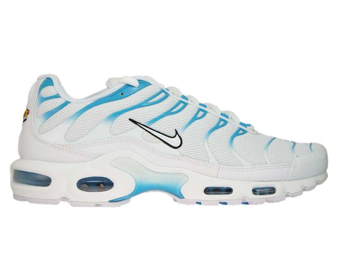 nike air max tn white blue