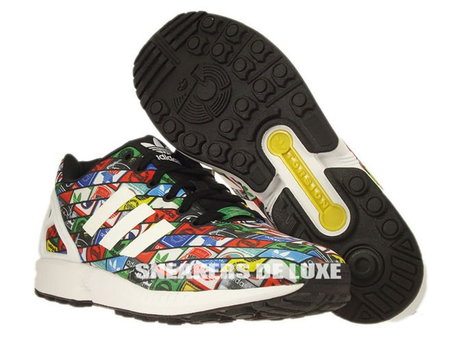 Adidas Zx Flux Ftwr White