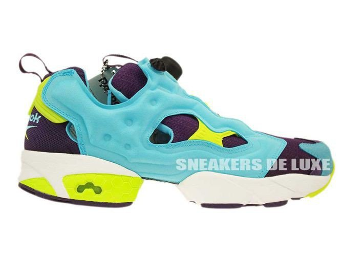 Reebok Insta Pump Fury OG Blue Purple Yellow (M46892)