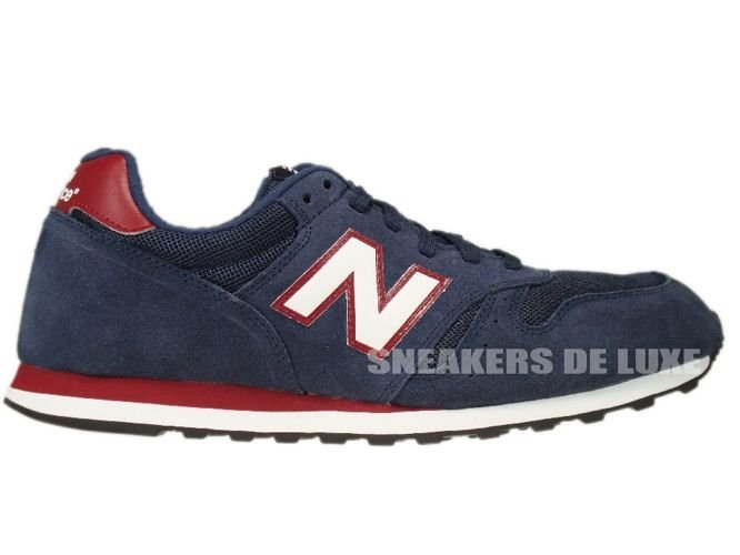 new balance 373 navy red