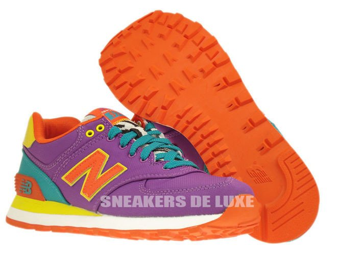 new balance 574 pop safari purple