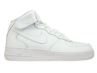 315123-111 Nike Air Force 1 MID '07 White/White