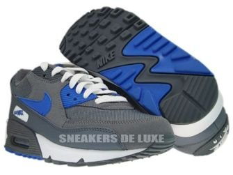 325213-007 Nike Air Max 90 Cool Grey/Varsity Royal