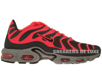 483553-006 Nike Air Max Plus TN 1.5 Hyperfuse Cool Grey/Black-Solar Red