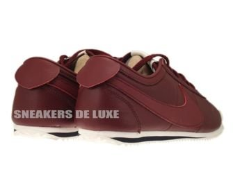 487777-660 Nike Cortez Classic OG Leather Dark Team Red/Team Red-Sail/White-Dark Obsidian