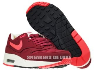 512033-660 Nike Air Max 1 Premium Team Red/Atomic Red-Black-Sail