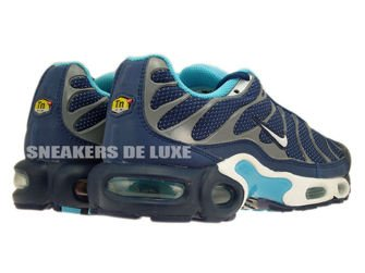 604133-422 Nike Air Max Plus TN 1 Brave Blue / White-Gamma Blue-Cool Grey