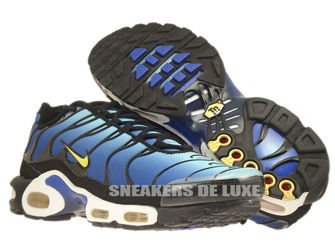 604133-475 Nike Air Max Plus TN 1 Hyper Blue/Chamois-Black-Sky Blue