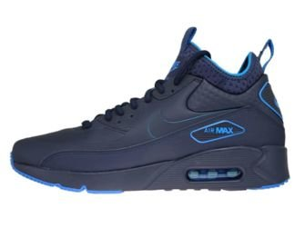 AA4423-400 Nike Air Max 90 Mid Winter Obsidian-Obsidian-Thunder Blue