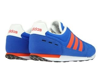 AW3875 adidas NEO City Racer Blue/Energy/Core Black