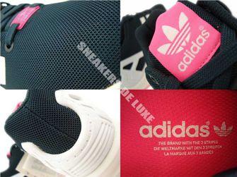 B34060 adidas ZX Flux Petrol Ink / Ftwr White / Solar Pink