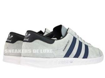 BB5298 adidas Hamburg Mid Grey/Collegiate Navy/Ftwr White