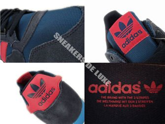 D65577 adidas Originals ZX 500 OG Tribe Blue / Red Beauty / Legend Ink