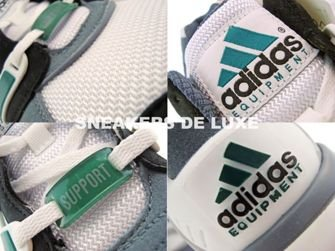 G44421 Adidas Equipment Support White/Green/Lead