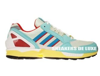 G97754  Adidas ZX 9000 OG Torsion Hydra/Turquoise/Poppy
