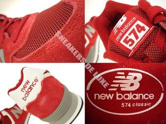 New Balance KL5741VP 574 Red / Grey