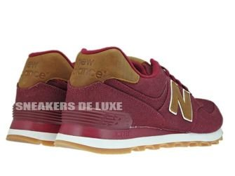 New Balance ML574TXD Burgundy / Brown