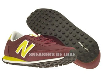 New Balance U410NYB 410 Burgundy / Yellow