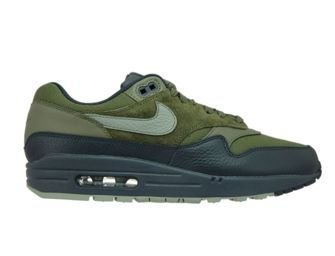 Nike Air Max 1 Premium 875844-201 Medium Olive/Dark Stucco
