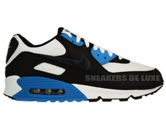Nike Air Max 90 Black/Anthracite-White-Blue Lacquer 309299-022