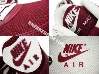 Nike Air Max 90 Deep Garnet/White-Anthracite 325018-601