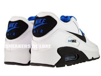 Nike Air Max 90 White/Black-Photo Blue 307793-121