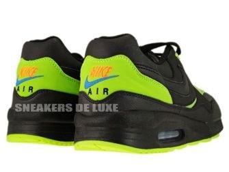 Nike Air Max Light Leather Black/Black-Volt 333623-010