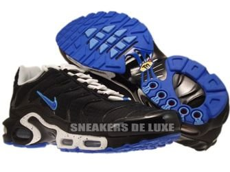 Nike Air Max Plus TN 1 Black/Treasure Blue-University Blue