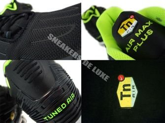 Nike Air Max Plus TN III 3 Black/Volt-Anthracite 604201-070