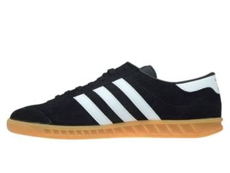 S76696 adidas Hamburg Core Black/Ftwr White/Gum