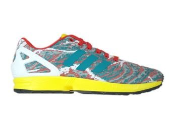 S79078 adidas ZX Flux Weave eqt green s16 / yellow / red