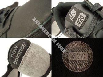 U420LSK New Balance 420 Black Leather