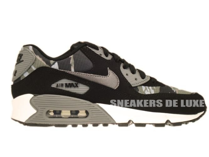 Nike Air Max 90 Black Leather Size 39 US 6 307793 002