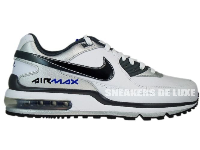 size 40 697bd 4cb10 316391-123 Nike Air Max LTD II White/BlackDark Grey-Metallic Silver ...