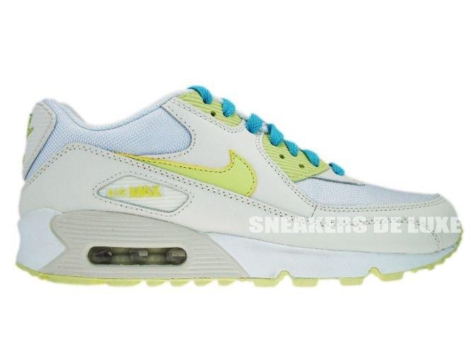 325213 107 Nike Air Max 90 Sail CitrineYellow 325213 107