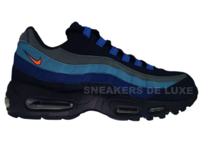 sports shoes 68d06 b119d 329393-400 Nike Air Max 95 SI Obsidian Total Orange-Meteor Blue- ...