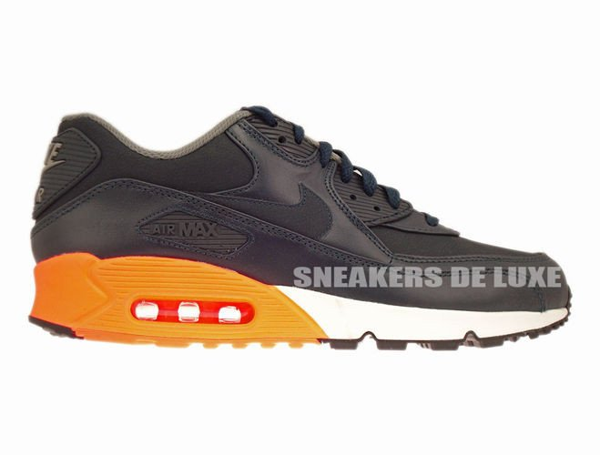 Nike Air Max 90 Premium Dark Obsidian White | 5Pointz