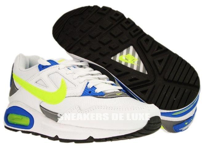 tout neuf 292e3 e91f7 343886-132 Nike Air Max Skyline White/Volt White Cool Grey ...