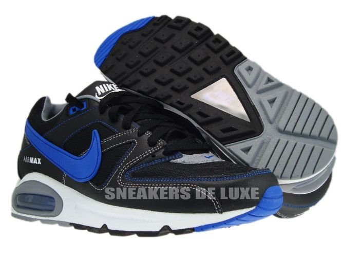 best service 80283 911c1 ... 397689-023 Nike Air Max Command Black Treasure Blue White ...
