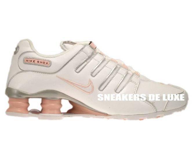 new concept beb62 e6baf 415245-116 Nike Shox NZ White White-Storm Pink-Metallic Silver ...