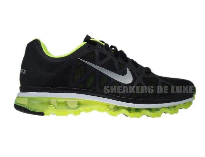 online store 664d2 e380f 429889-007 Nike Air Max 2011+ Black Metallic Cool Grey-Volt ...