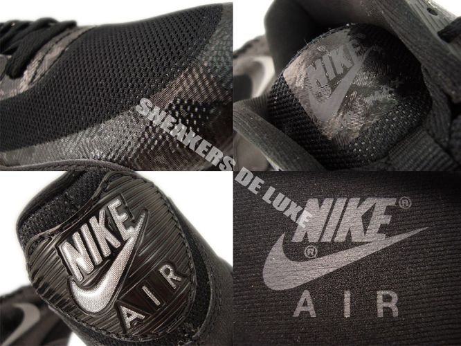 532470 090 Nike Air Max 90 Hyperfuse Premium BlackReflect