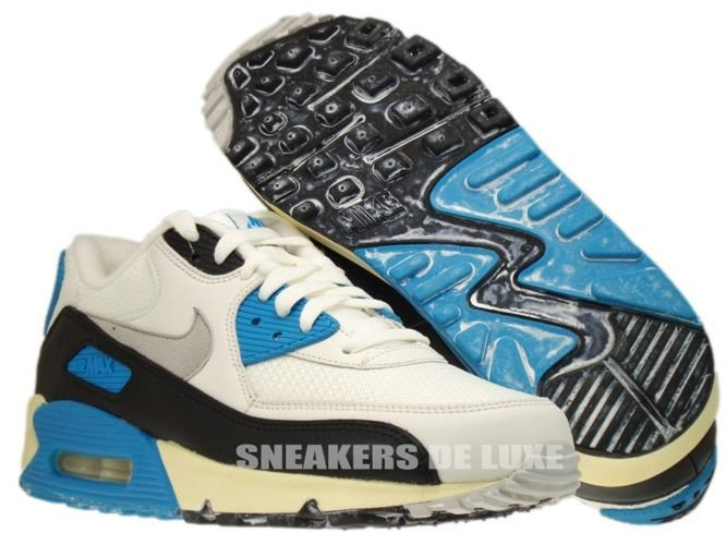competitive price 19322 460eb ... 543361-104 Nike Air Max 90 OG Sail Neutral Grey-Laser Blue- ...
