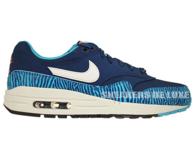 Nike Air Max 1 Premium Tape Brave Blue & Summit White | END.